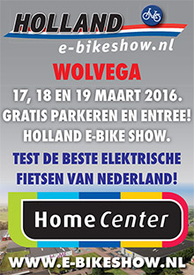 Holland E Bike Show banner 2016